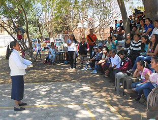 GIL Mariela W Catequists In Morelia Featured