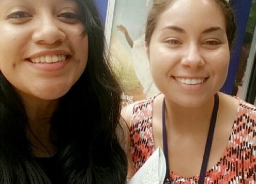 Associates And OLLU Students Karina Martinez And Victoria Torres