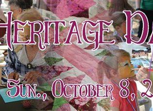 Heritage Day – Sunday, October 8, 2017